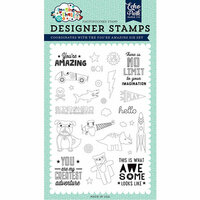 Echo Park - Imagine That Boy Collection - Clear Photopolymer Stamps - You're Amazing