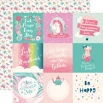Echo Park - Imagine That Girl Collection - 12 x 12 Double Sided Paper - 4 x 4 Journaling Cards