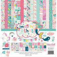 Echo Park - Imagine That Girl Collection - 12 x 12 Collection Kit