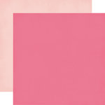 Echo Park - Imagine That Girl Collection - 12 x 12 Double Sided Paper - Dark Pink