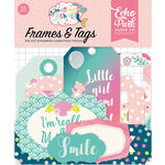 Echo Park - Imagine That Girl Collection - Ephemera - Frames and Tags