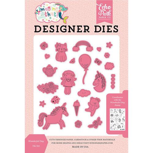 Echo Park - Imagine That Girl Collection - Designer Dies - Wonderful Day