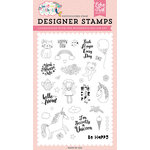 Echo Park - Imagine That Girl Collection - Clear Photopolymer Stamps - Wonderful Day