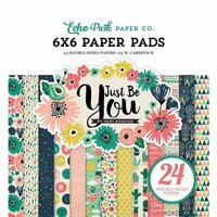 Echo Park - Just Be You Collection - 6 x 6 Paper Pad