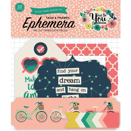 Echo Park - Just Be You Collection - Ephemera - Frames and Tags