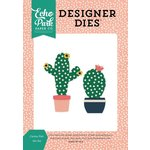 Echo Park - Just Be You Collection - Designer Dies - Cactus Pair