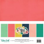 Echo Park - Just Be You Collection - 12 x 12 Paper Pack - Solids