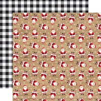 Echo Park - Jingle All The Way Collection - Christmas - 12 x 12 Double Sided Paper - Kris Kringle