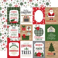 Echo Park - Jingle All The Way Collection - Christmas - 12 x 12 Double Sided Paper - 4 x 3 Journaling Cards