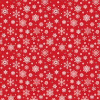 Echo Park - Jingle All The Way Collection - Christmas - 12 x 12 Double Sided Paper - Silent Snowfall