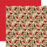 Echo Park - Jingle All The Way Collection - Christmas - 12 x 12 Double Sided Paper - By The Chimney
