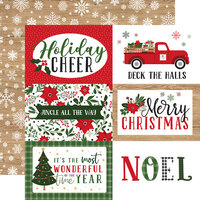 Echo Park - Jingle All The Way Collection - Christmas - 12 x 12 Double Sided Paper - 6 x 4 Journaling Cards