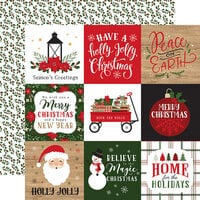 Echo Park - Jingle All The Way Collection - Christmas - 12 x 12 Double Sided Paper - 4 x 4 Journaling Cards