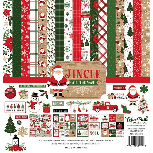 Echo Park - Jingle All The Way Collection - Christmas - 12 x 12 Collection - Christmas Kit