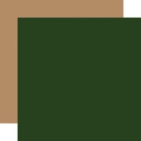 Echo Park - Jingle All The Way Collection - Christmas - 12 x 12 Double Sided Paper - Dark Green