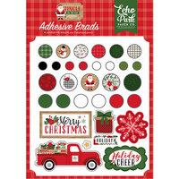 Echo Park - Jingle All The Way Collection - Christmas - Self Adhesive Brads