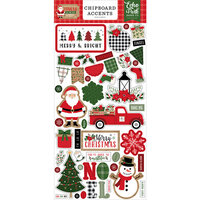 Echo Park - Jingle All The Way Collection - Chipboard Embellishments - Christmas - Accents