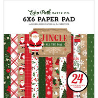 Echo Park - Jingle All The Way Collection - Christmas - 6 x 6 Paper Pad