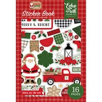 Echo Park - Jingle All The Way Collection - Christmas - Sticker Book
