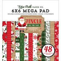 Echo Park - Jingle All The Way Collection - Christmas - 6 x 6 Mega Paper Pad