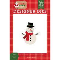 Echo Park - Jingle All The Way Collection - Designer Dies - Christmas - Festive Snowman