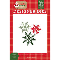 Echo Park - Jingle All The Way Collection - Designer Dies - Christmas - Holiday Snowflakes