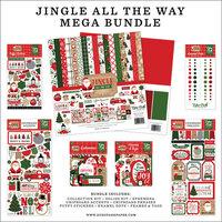 Echo Park - Jingle All The Way Collection - Christmas - 12 x 12 Mega Bundle