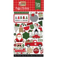 Echo Park - Jingle All The Way Collection - Christmas - Puffy Stickers