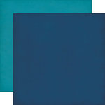 Echo Park - Jack and Jill Collection - Boy - 12 x 12 Double Sided Paper - Navy