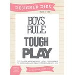 Echo Park - Jack and Jill Collection - Boy - Designer Dies - Boys Rule