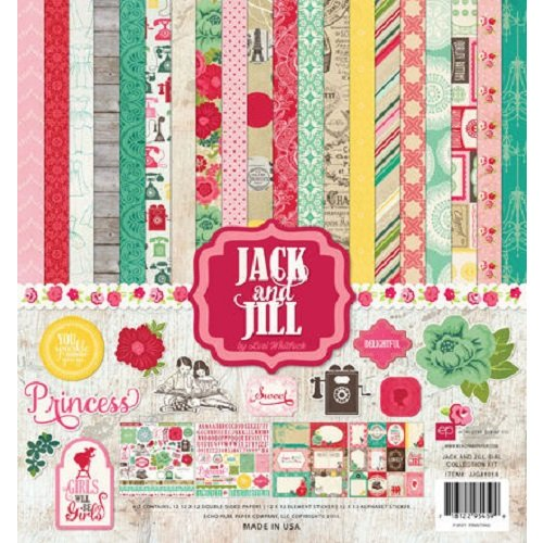 Echo Park - Jack and Jill Collection - Girl - 12 x 12 Collection Kit