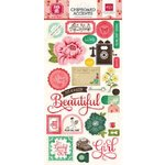 Echo Park - Jack and Jill Collection - Girl - Chipboard Stickers