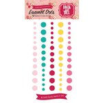 Echo Park - Jack and Jill Collection - Girl - Enamel Dots