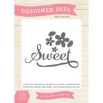 Echo Park - Jack and Jill Collection - Girl - Designer Dies - Sweet Flower