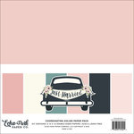 Echo Park - Just Married Collection - 12 x 12 Paper Pack - Solids