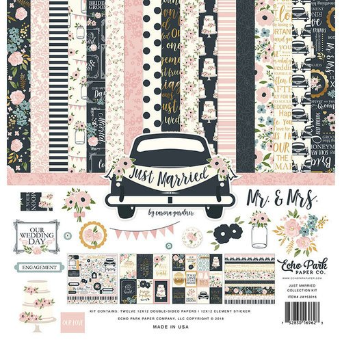 Echo Park - Just Married Collection - 12 x 12 Collection Kit