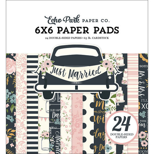 Echo Park - Just Married Collection - 6 x 6 Paper Pad