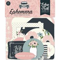 Echo Park - Just Married Collection - Ephemera