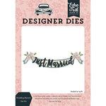 Echo Park - Just Married Collection - Designer Dies - Wedding Banner