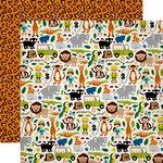 Echo Park - Jungle Safari Collection - 12 x 12 Double Sided Paper - Jungle Adventure
