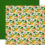 Echo Park - Jungle Safari Collection - 12 x 12 Double Sided Paper - Wilderness Floral