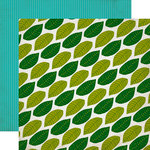 Echo Park - Jungle Safari Collection - 12 x 12 Double Sided Paper - Canopy Leaves