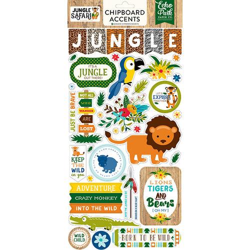Echo Park - Jungle Safari Collection - Chipboard Stickers