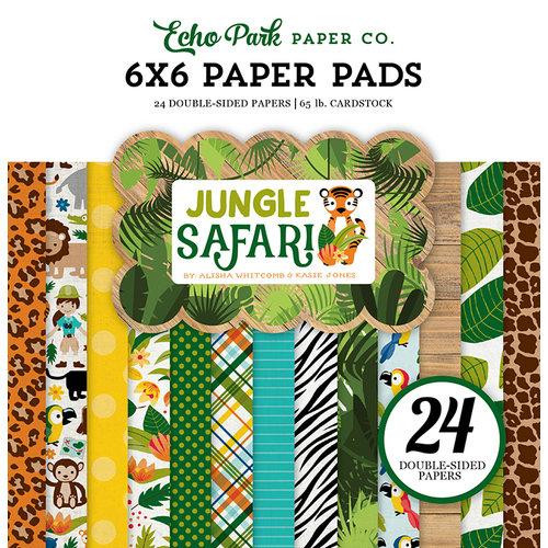 Echo Park - Jungle Safari Collection - 6 x 6 Paper Pad
