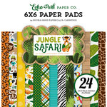 Echo Park - Jungle Safari Collection - 6 x 6 Paper Pad