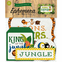 Echo Park - Jungle Safari Collection - Ephemera