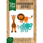 Echo Park - Jungle Safari Collection - Designer Dies - Safari Animals Set 1