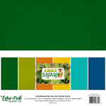 Echo Park - Jungle Safari Collection - 12 x 12 Paper Pack - Solids