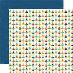 Echo Park - Little Boy Collection - 12 x 12 Double Sided Paper - Sailboat