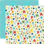 Echo Park - Little Boy Collection - 12 x 12 Double Sided Paper - Rockstar